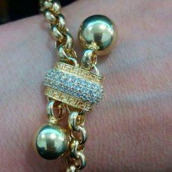 Altın bileklik 585 Shopard.