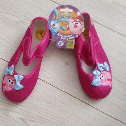 New denim shoes