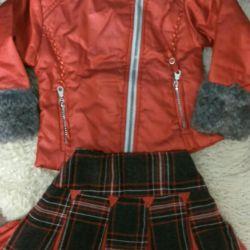 Children's jacket for the girl