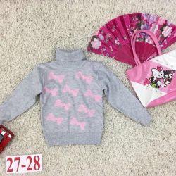 светр для дівчинки