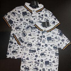 Polo tricou nou pentru copii