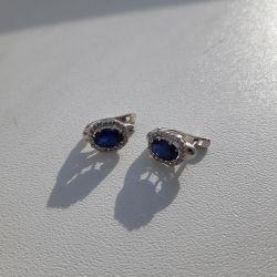 Sokolov Falcon Earrings Silver