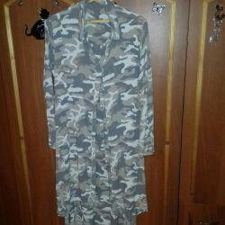 Φόρεμα-πουκάμισο