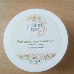 SPA Μάσκα μαλλιών με ελαιόλαδο 200 ml.