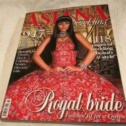 Catalog of Asian wedding fashion. London