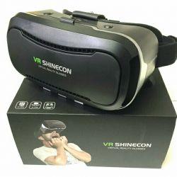 VR Shinecon Virtual Reality Glasses with Gamepad