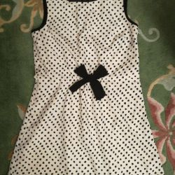 Silk Dress Mark & Senser Height 140