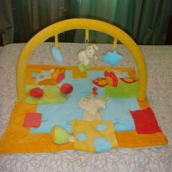 Children's developing rug