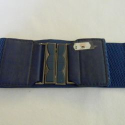 Belt blue female elastic new