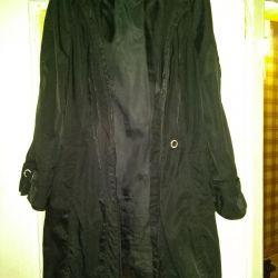 Used raincoat