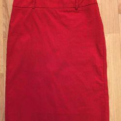 Zara straight pencil skirt