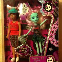 A set of dolls 2 pieces, new