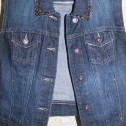 Джинсовый жилет Gloria jeans