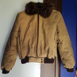 Αρχικό γούνινο μπουφάν