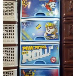 Chest of drawers M6101 4section, Paw Patrol1 d / boy