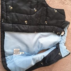 Vest of warm 92-98 cm