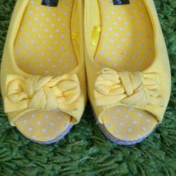 Sandale textile
