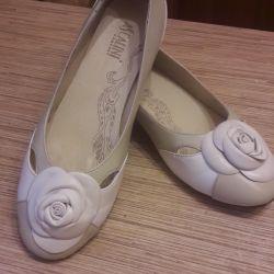 Ballet shoes natur.kozha p.39