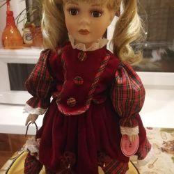 A porcelain doll. Remeco