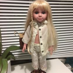 Doll on the stand with the stigma