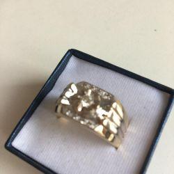 men's signet with Korloff diamonds