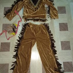 Carnival costume Indian 122-128-134