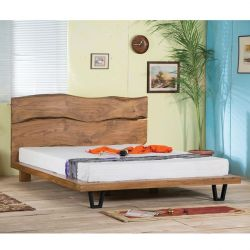 Bed from Solid Wood Acacia 160x200