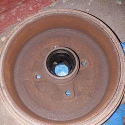 Brake Drum on Chevron Lanos