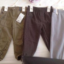 Новые штаны  92 см