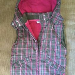 Vest for the girl. New.