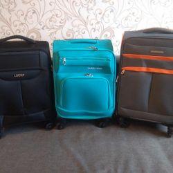 Yeni valizler - el bagajı
