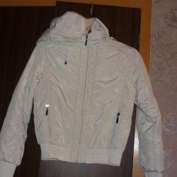 Jachetă albă de puf p 42