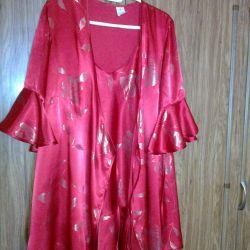 Φόρεμα + γυναικείο πουκάμισο