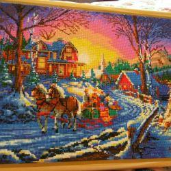 Handmade mosaic picture