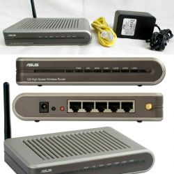 WiFi router router access point ASUS WL520