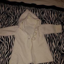Cardigan / coat baby