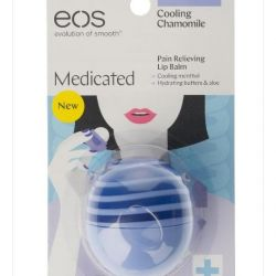 EOS lip balm with chamomile extract