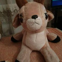 Детская игрушка оленeнок