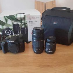 Brand new canon 300d with 2 year warranty and comp