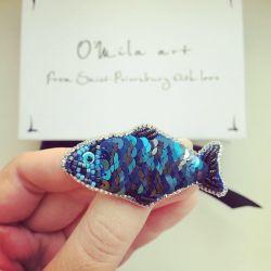Brooch fish