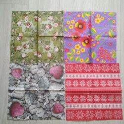 Napkins for decoupage