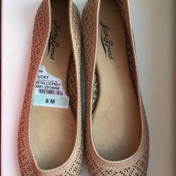 Νέα παπούτσια μπαλέτου LuckyBrand μέγεθος 38