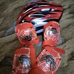 Helmet and Protection for the bike