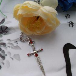 НОВЫЙ крест на цепочке
