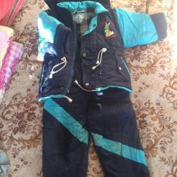 Çocuk kış takım elbise