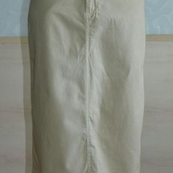 Skirt Ralph Lauren S-M style safari cotton