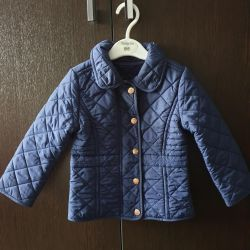 Quilted jacket Mothercare 92p