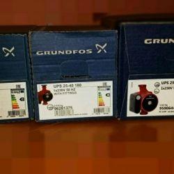 New pumps Grundfos, Wilo, Dab, warranty