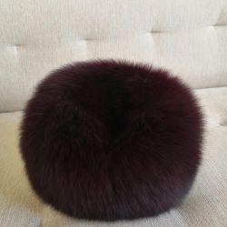 Women's fur hat (arctic fox)