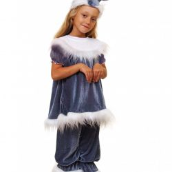 Children's carnival costume Hare